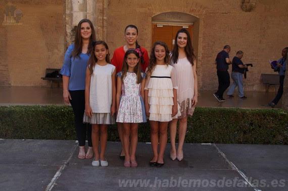 Entrevistas a Candidatas infantiles a Cortes de Honor. El Pilar - Sant Francesc. #Elecció19