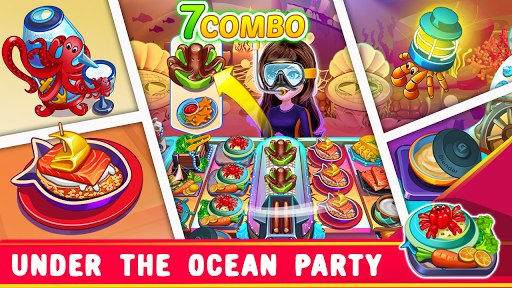 Télécharger Gratuit Cooking Party: Restaurant Craze Chef Cooking Games  APK MOD (Astuce) screenshots 1