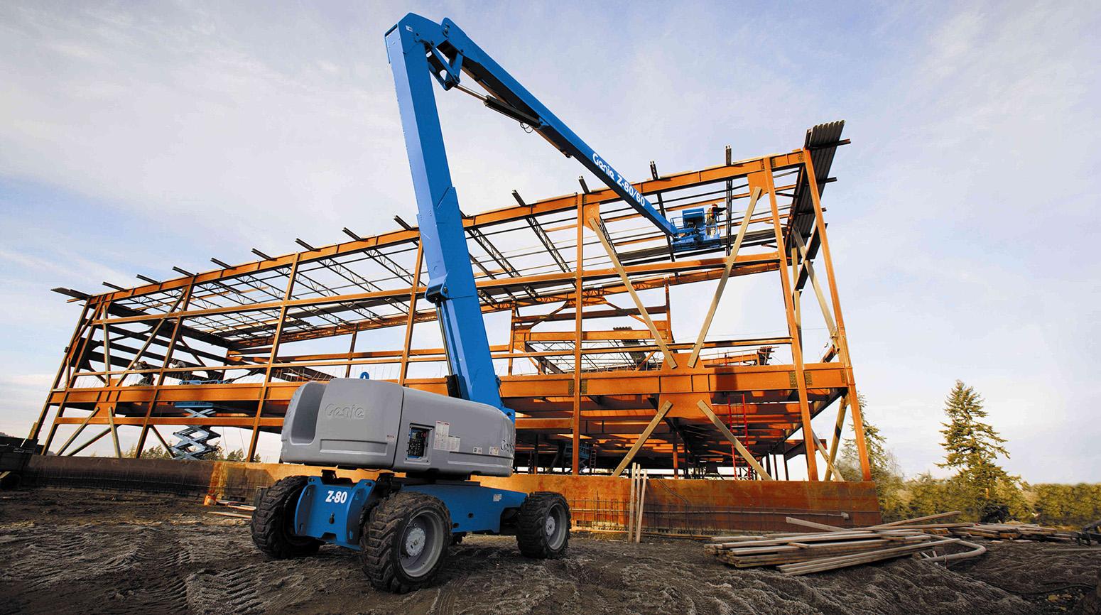 Plataformas elevatórias: segurança e produtividade no canteiro de obras - D Peso