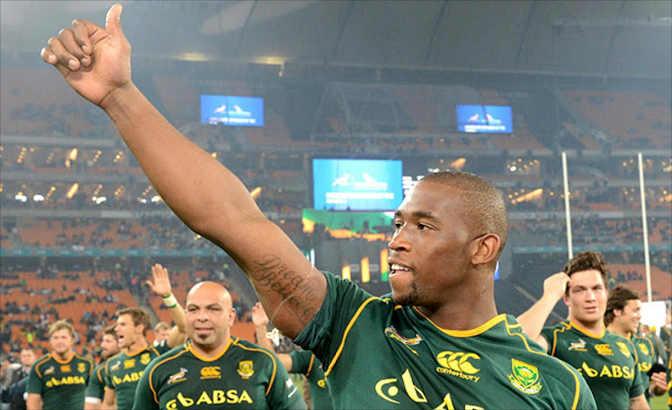 Springbok captain Siya Kolisi's is now only pleased to get on with business.