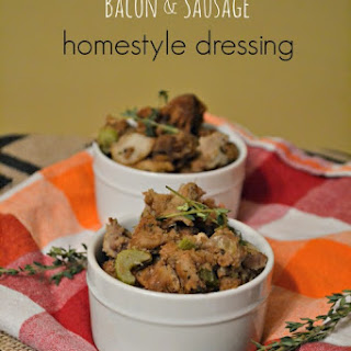 Bacon and Sausage Homestyle Dressing