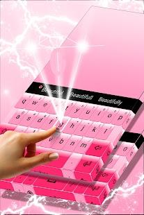 Jednoduše Pink Keyboard - náhled