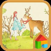 Deer&Girls DodolLauncherTheme