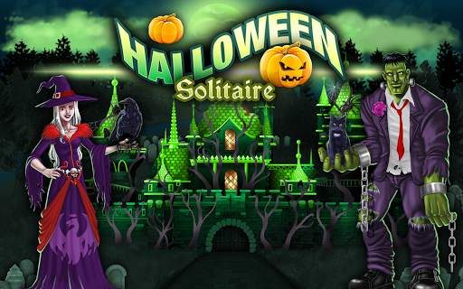Halloween Tri-peaks Solitaire  screenshots 6
