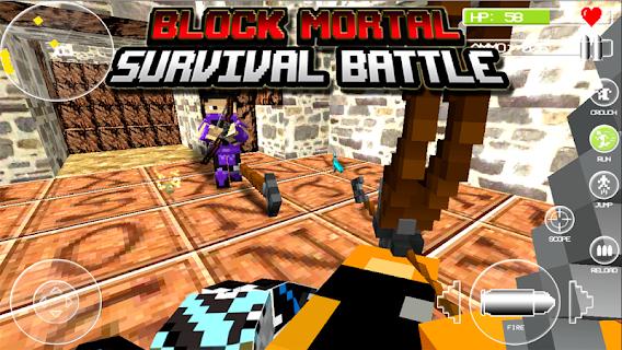 Block Mortal Survival Battle screenshot 00
