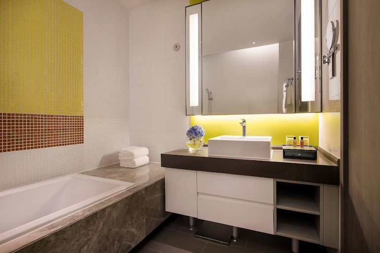 Bathroom at Citadines Gaoxin