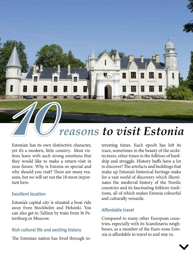 iEstonia- Offline Travel Guide- screenshot