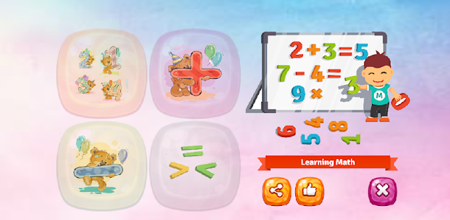 Learning math for kids