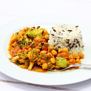 Nutty Roasted Romanesco Curry.