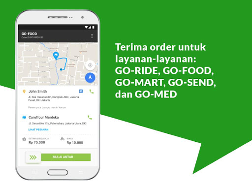 GO-JEK Driver 3.2.0 screenshots 3