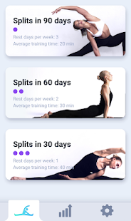 splits flexibility training stretching exercises  apps