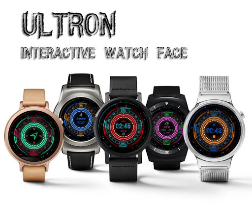 Ultron INteractive Watch Face