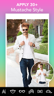 Boy's Photo Editor - Mustache & Hairstyle Editor - náhled