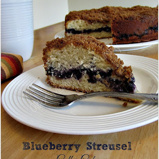 Blueberry Struesal Coffee Cake ~ Baking Spree!