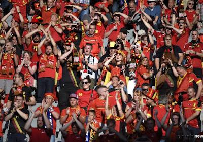 La journée des supporters belges à Cardiff