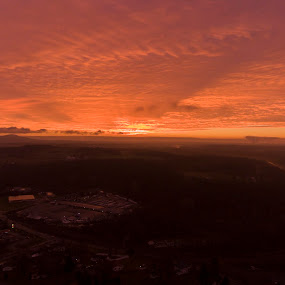 Good morning by Caleb Daniel - Landscapes Sunsets & Sunrises ( sky, color, sunrise, morning, light, sun,  )