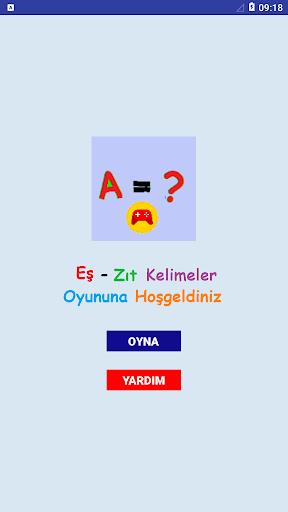 Eu015f-Zu0131t Kelimeler Oyunu screenshots 1