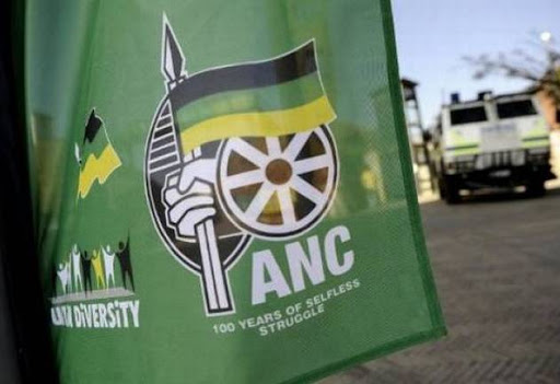 A file photo of the ANC flag.