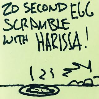 20 Second Scrambled Eggs.