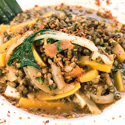 Sauteed Mungo Beans Rice Combo