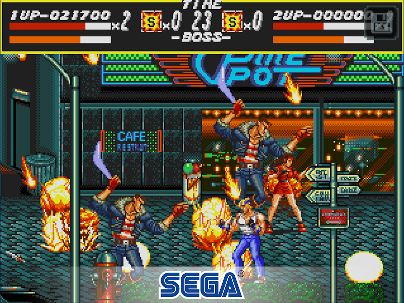 Streets of Rage Classic Screenshot 11