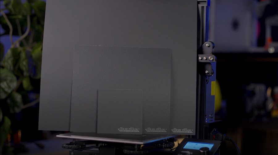 Buildtak comes in many different sizes and can easily be cut down to size for your 3D printer's bed.