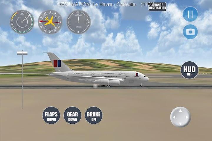 android Airplane Paris Screenshot 4
