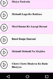 Hindi Wedding Sangeet Songs - náhled