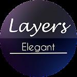 Elegant Blur - Layers Theme v1.1
