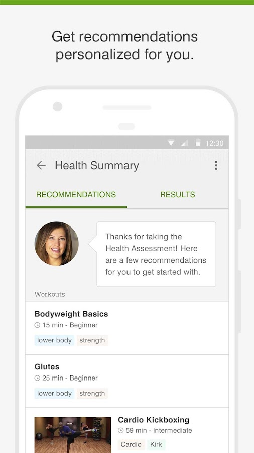 Life Time Health- screenshot