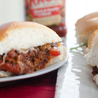 Italian Sloppy Joe Sliders.