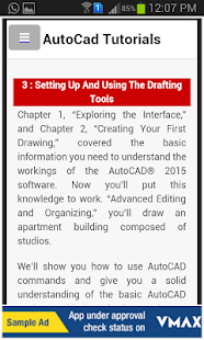 Learn AutoCAD Complete Tutor - náhled
