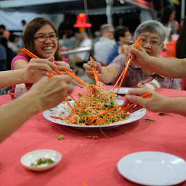 Lou San by Beh Heng Long - Food & Drink Eating ( cny food )
