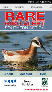 Rare Bird Alert SouthernAfrica- screenshot thumbnail