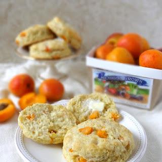 Fresh Apricot & Ginger Scones