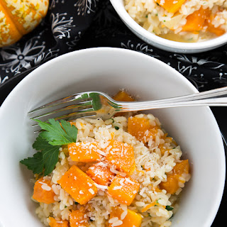 Happy Halloween Pumpkin Risotto