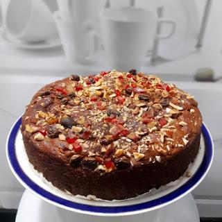 Eggless Jaggery Date Cake Recipe