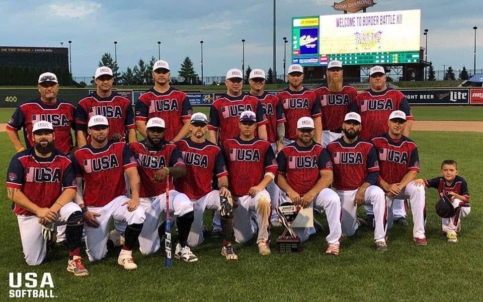 2019 Team USA wins Border Battle XI | www softballcenter com