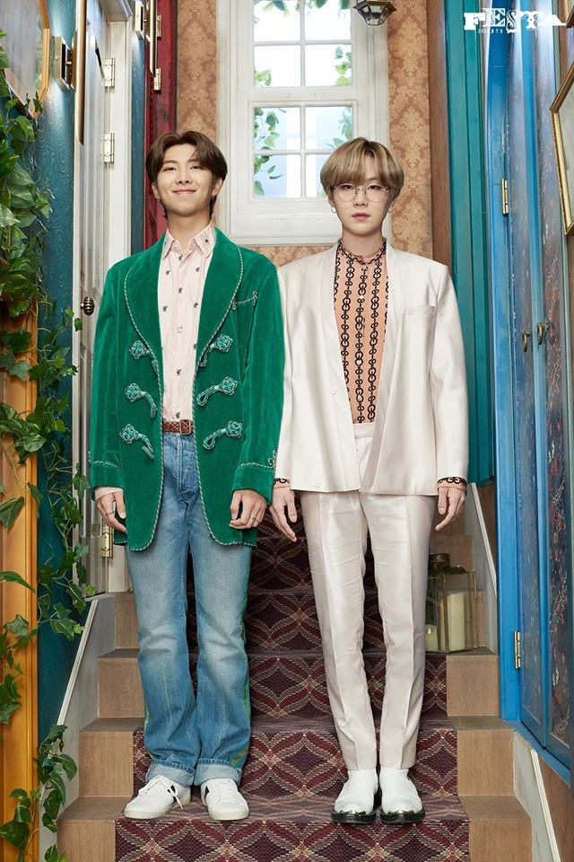 BTS Unit Photos 2020 Festa of Suga and Rm THE RESPECT Unit