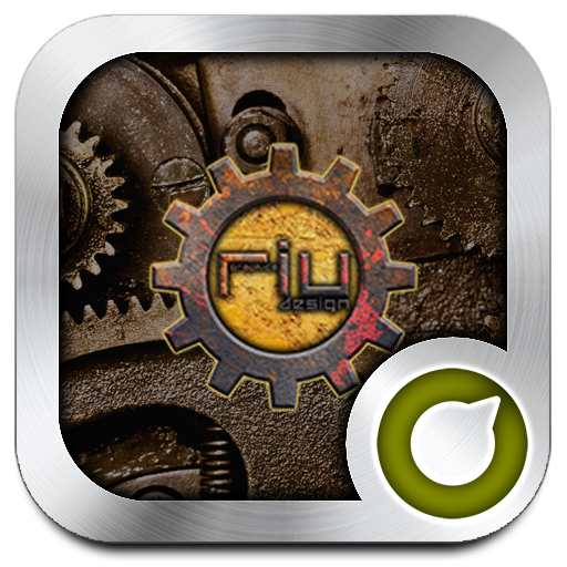Steampunk Solo Launcher Theme Android APK Download Free By RIU Design