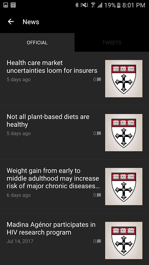 Public Health News- screenshot