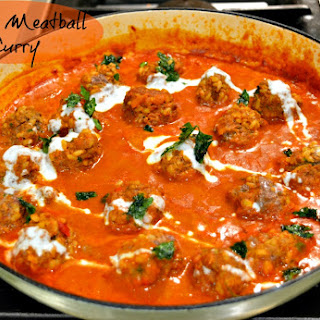 Indian Meatball Curry.