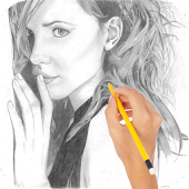 pencil photo effect