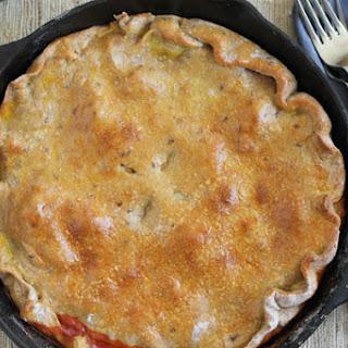 Pepperoni Pizza Pot Pie