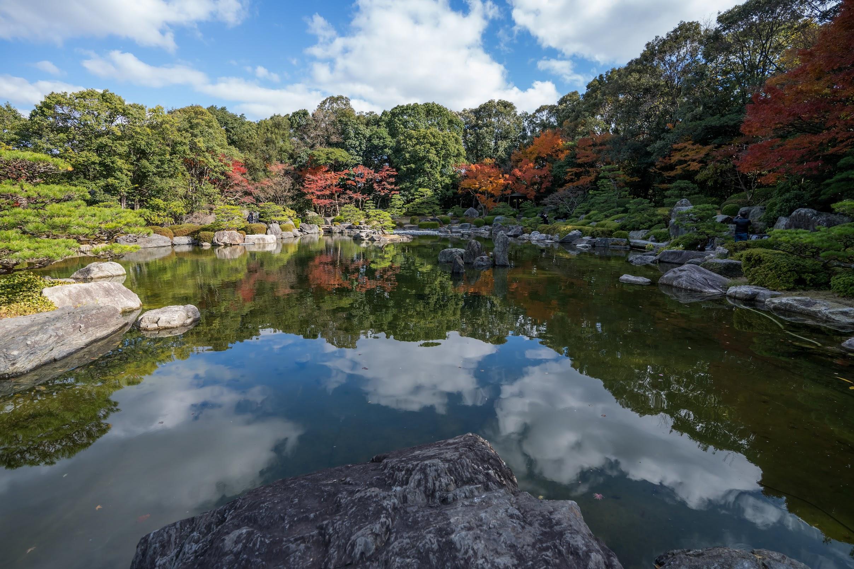 福岡 大濠公園 日本庭園