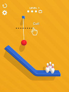 Rope Bowling Screenshot