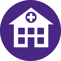 Simplified Hospital Illustration