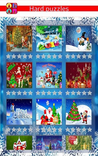 Puzzles Christmas Cards