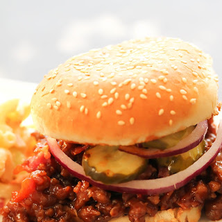 BBQ Pork Sloppy Joes.