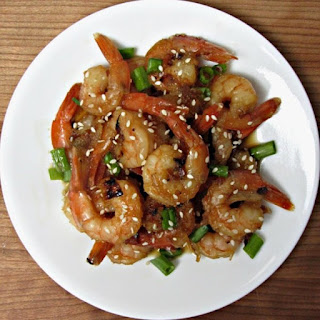 Honey Garlic Teriyaki Shrimp
